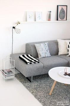 A Neutral Living Room