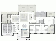 Mcdonald jones homes - lyndhurst Luxury House Plans, Dream House Plans, House Floor Plans, Mcdonald Jones Homes, Hotel Floor Plan, Kitchen Floor Plans, Family House Plans, Cottage Plan, House Blueprints