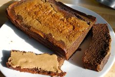Chocolate flaxseed grain-free protein bread