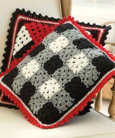 Plaid: free crochet pattern
