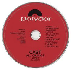 For Sale - Cast All Change UK Promo  CD album (CDLP) - See this and 250,000 other rare & vintage vinyl records, singles, LPs & CDs at http://eil.com