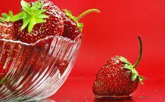 hd strawberry wallpaper