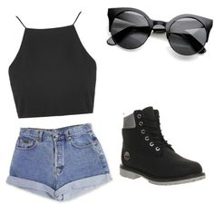 Untitled #63 by sophia-solzbacher on Polyvore featuring polyvore мода style Topshop Timberland Calvin Klein