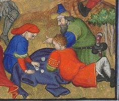 Horae ad usum romanum.  Date d'édition :  1401-1500  Latin 1156B  Folio 139r