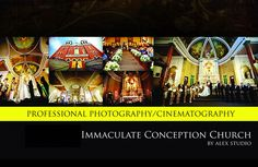 ALEX STUDIO PHOTOGRAPHY AND CINEMATOGRAPHY Maternity, Newborn, Head shot, Fashion portfolio Destination Wedding- Worldwide Travel Please contact us at 425.883.6800 http://www.alexphotography.com  info@alexphotography.com Immaculate Conception Church