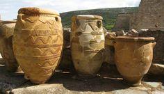 Knossos Pithoi Minoan Crete