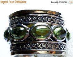 Auf Verkauf Ring Spinner Ring silber gold Designer von Bluenoemi