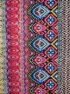Colorful Ikat .Michael Miller