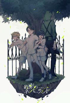 yakusoku no neverland in minecraft Neverland, Dumb And Dumber, Anime Art, Artist, Artwork, Pixiv, Devil, Minecraft, Work Of Art