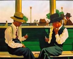 The Duellists by Jack Vettriano - print from 1994