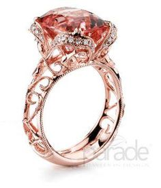 """This ring reminds us of the old Aerosmith song """"Pink""""  Parade Designs Found at Diamond R Jewelry-Hays, Ks"""