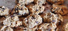 Pumpkin Raisin Breakfast Cookies (gluten free, dairy free, refined sugar free)