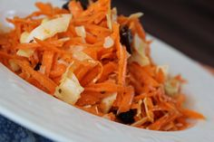 COCONUT CARROT CURRY SALAD Paleo // Vegan // Raw By Radiantly Raw Lifestyles
