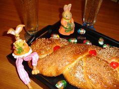 Trenza Griega de Pascua (tradicional y panificadora)