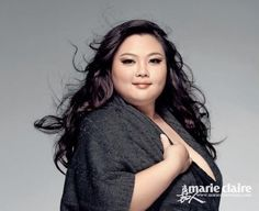 LOVE YOU!! WORK YOU!! Zeng Jing, Chinese plus-sized model