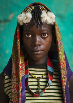 Bana Tribe Woman, Key Afer, Omo Valley, Ethiopia.