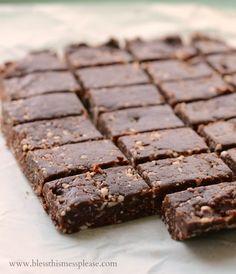 Healthy No Bake Snack Bar Recipe