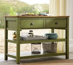 Jocelyn Console Table for cheese and crackers, bread, fruit etc.