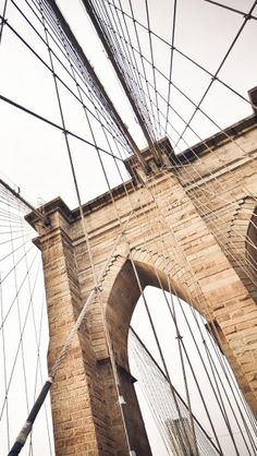 The Brooklyn Bridge Iphone Wallpaper