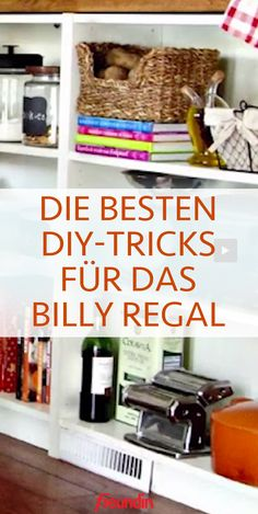 Billi Regal, 1000 Lifehacks, Ikea Regal, Ikea Billy, Tricks, Room Decor, Blog, Diy, Cool Ideas
