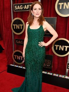 Julianne Moore in Givenchy, SAG 2015