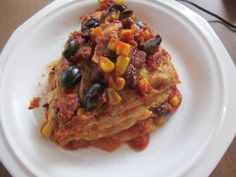 Vegan Crock Pot Enchiladas