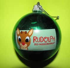 RUDOLPH THE RED-NOSED REINDEER 2002 PROMOTIONAL CHRISTMAS ORNAMENT