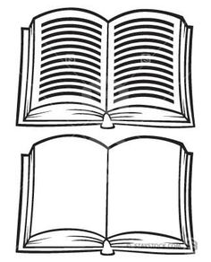 Free open book clipart public domain open book clip art