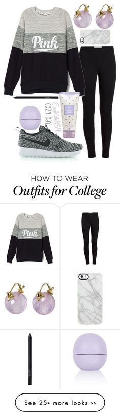 """Cozy Day"" by emikate359 on Polyvore featuring Gabrielle Sanchez, NIKE, Topshop, NARS Cosmetics and Uncommon"