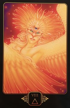 """May 01/2017 Daily Angel Oracle Card: Eight of Fire, from the Dreams Of Gaia Oracle Card deck, by Ravynne Phelan Eight of Fire: """"Keywords: Action, Change, Transformation, Transmutation, Rebirth, Freedom, …"""