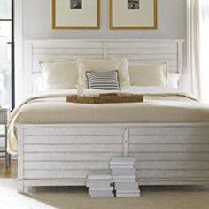 Coastal Living by Stanley Furniture Platform Bed Size: King, Finish: Distressed Morning Fog