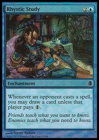 Rhystic Study - Enchantment - Cards - MTG Salvation