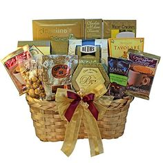 Art of Appreciation Gift Baskets Golden Splendor Gourmet Food Gift Basket Candy * Continue to the product at the image link. First Mothers Day Gifts, Cool Fathers Day Gifts, Gifts For New Dads, Gourmet Food Gifts, Gourmet Gift Baskets, Gourmet Recipes, Gourmet Popcorn, Gourmet Cheese, Wine Country Gift Baskets