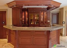 27 Acre Estate In Ontario, Canada Custom Home Bars, Bars For Home, Bar Counter Design, Basement Bar Plans, Home Pub, Home Bar Designs, Built In Bar, Rich Home, Home Theater Design