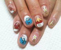 Cute cartoon nails.....