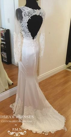 Ready to Ship/ Couture Custom Made Wedding by DreamDressesByPMN $1000