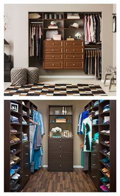 No matter if you have a simple reach-in closet or a large walk-in closet, NeuSpace can help you make the most of every inch of space. Design the closet of your dreams by clicking through to our online design tool and see how easy it is.