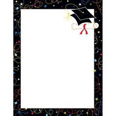 Grad Swirls Letterhead Sheets