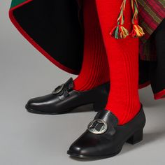 Strømper - stockings for the Amli bunad, Aust Agder, Norway