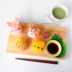 Winnie the Pooh Temari Sushi