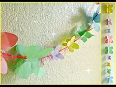 5 Fun Spring Crafts For Kids Spring Crafts For Kids, Craft Projects For Kids, Paper Crafts For Kids, Easy Crafts For Kids, Easter Crafts, Kid Crafts, Decor Crafts, Paper Flower Garlands, Paper Flowers