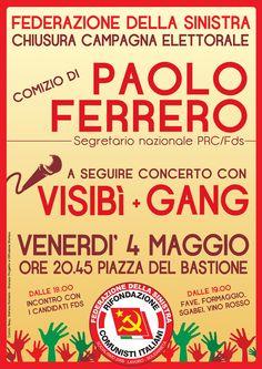 Paolo Ferrero + Visibì + Gang
