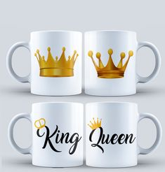 We make the beat and wonderful affordable mugs for souvenirs @ 2500 Call or send a DM  Make profit is good but building a trusted brand is everything  King Y Queen, Sublimation Mugs, Couple Mugs, Best Valentine's Day Gifts, Diy Mugs, Cute Coffee Mugs, Mug Printing, Chocolate Gifts, Personalized Mugs