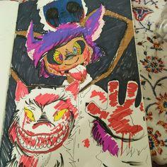 My drawing ~❤ . . #artlife #art #arts #instalike #instaart #instadraw #ilovedrawing #markers #colors #Melizagriffinanimeart #myart #artwork #animefan #cartoon #toon