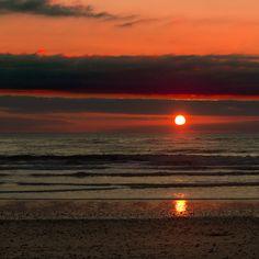 """Surfing at sunset"" by Pilar Azaña, via 500px."