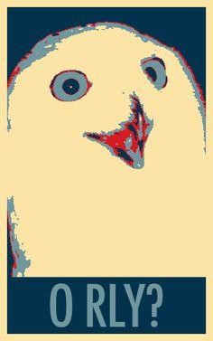 O RLY owl for president