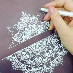 "206 Likes, 4 Comments - July (@mandala.create) on Instagram: ""Feeling peace & love during the drawing process ❤…"""