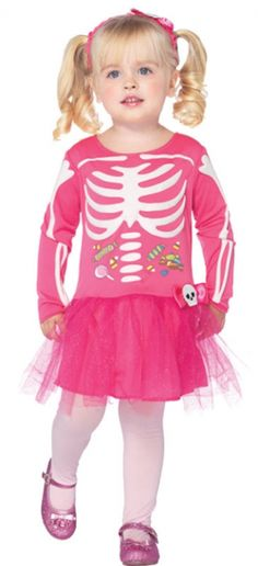 Candy Skeleton Costume