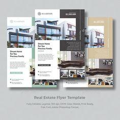 Presentation Magazine, Presentation Folder, Layout Design, Design Ideas, Annual Report Covers, Real Estate Flyer Template, Real Estate Flyers, Folder Design, Brochure Layout