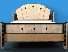 Art Deco Bed-